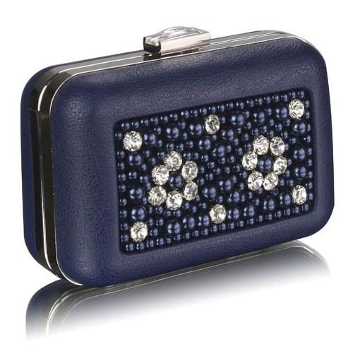 Dámska listová kabelka LS Fashion Julia - modrá