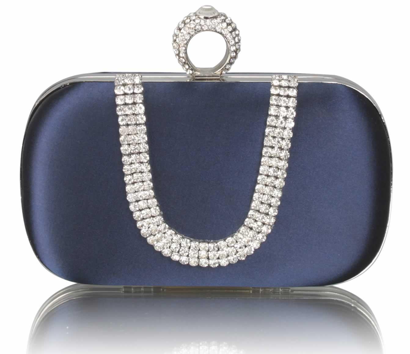 Dámska listová kabelka LS Fashion Mina - modrá