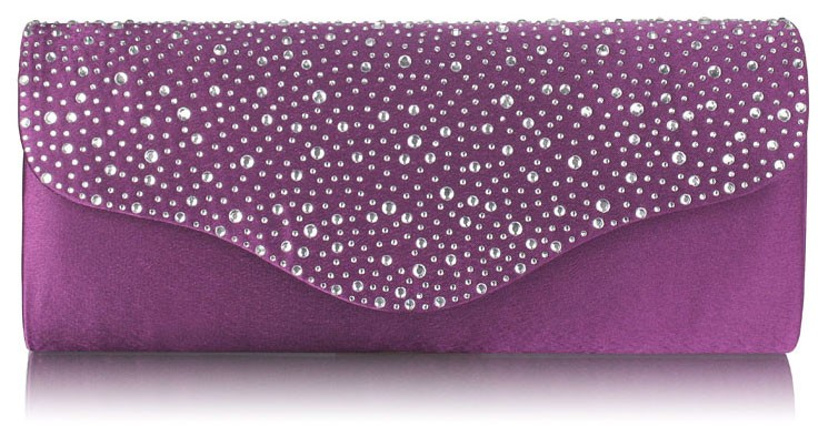 Dámska listová kabelka LS Fashion Becca - fialová