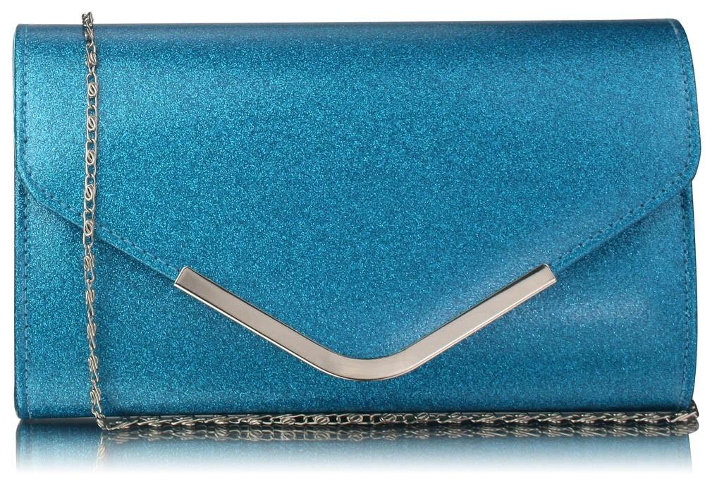 Dámska listová kabelka LS Fashion Kaila - modrá