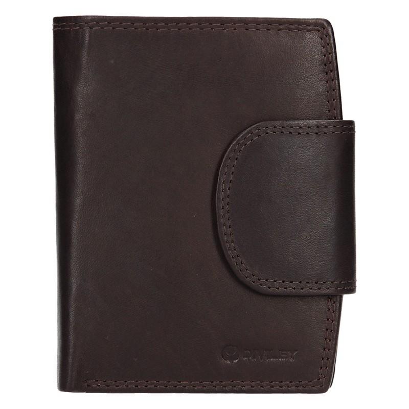 Pánska kožená peňaženka Diviley Luiss - hnedá