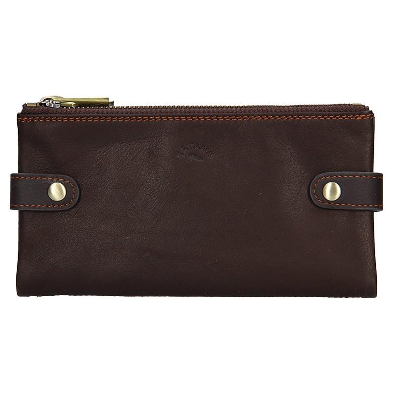 Dámska kožená peňaženka Katana Wendy - hnedá