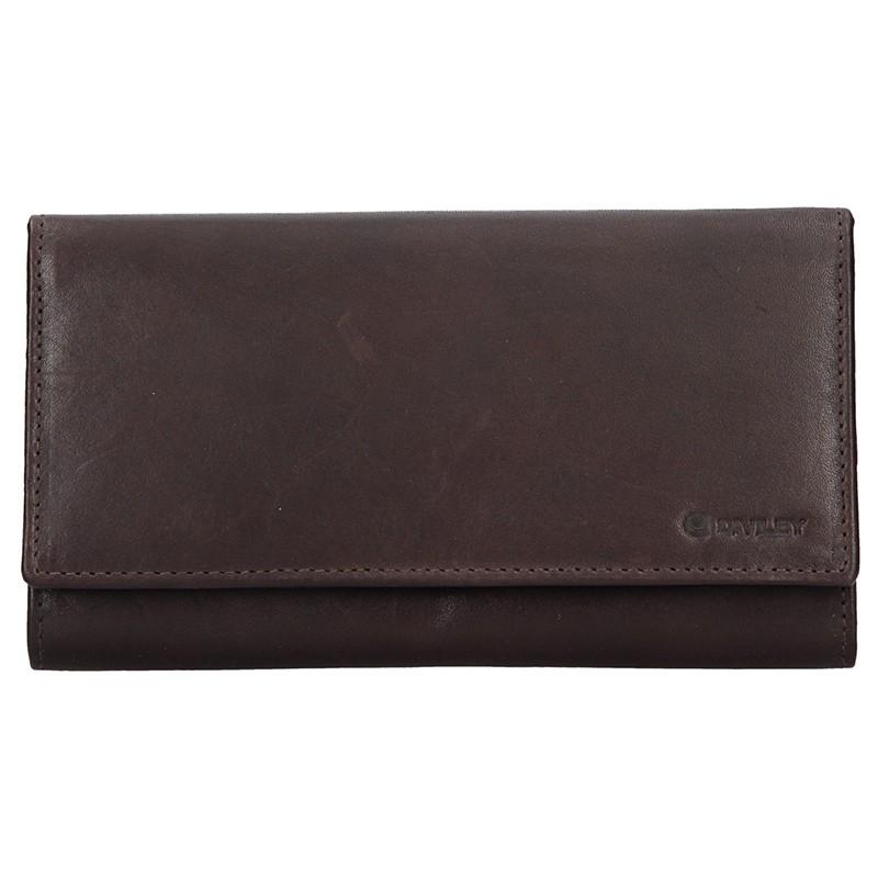 Dámska kožená peňaženka Diviley Emma - hnedá