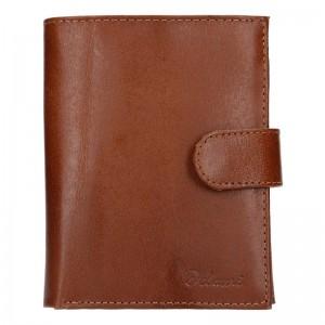 Pánská kožená peněženka Diviley Uran - černá