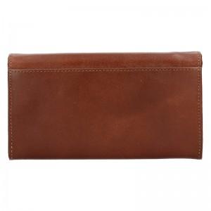 Dámská kožená peněženka Diviley Tinna - černá
