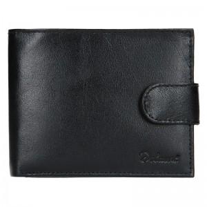 Pánská kožená peněženka Diviley Loris - černá