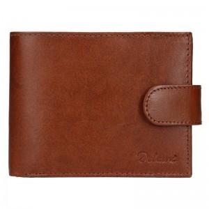 Pánska kožená peňaženka Diviley Loris - hnedá