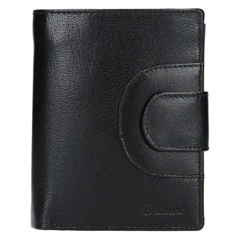 Pánska kožená peňaženka Diviley Henry - čierna