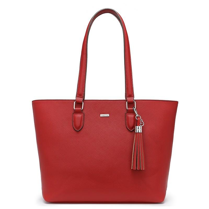 1408c8c0f9 Dámska kabelka Tamaris Maxima Shopping - červená