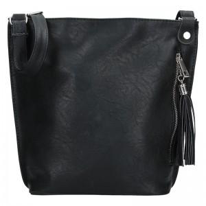 Dámska crossbody kabelka SendiDesign Pavla - čierna