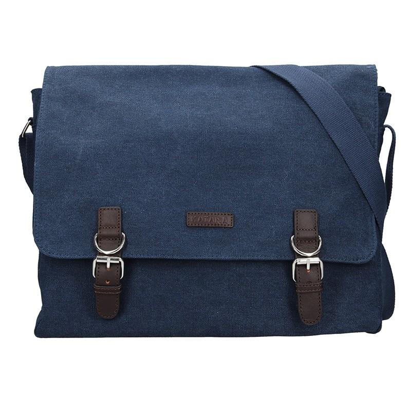 Pánska taška Katana Toile - modrá