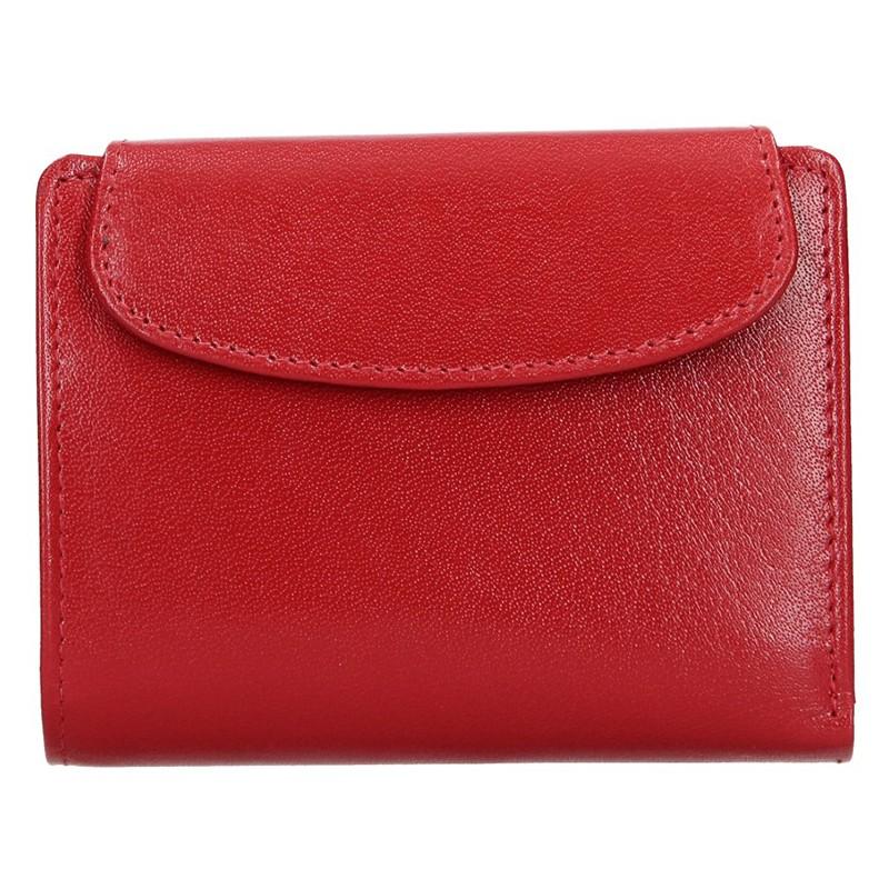 Dámska kožená peňaženka Lagen Alberta - červená