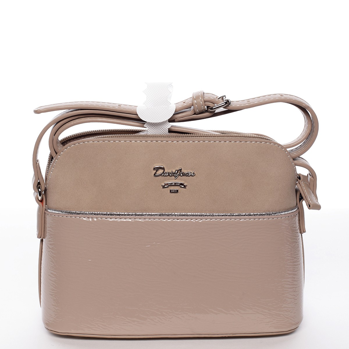 Dámska kabelka crossbody David Jones Kelly - camel