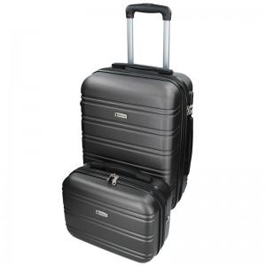 Sada dvoch cestovných kufrov Airtex Worldline 531/2 - sivá