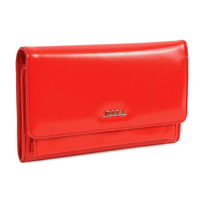 Dámska peňaženka Doca 65329 - červená