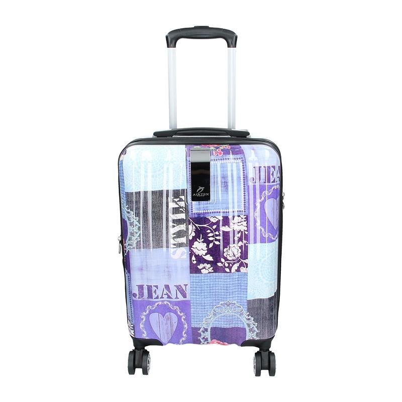 Cestovný kufor Airtex Paris Violet S 35l