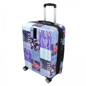 Cestovný kufor Airtex Paris Violet L