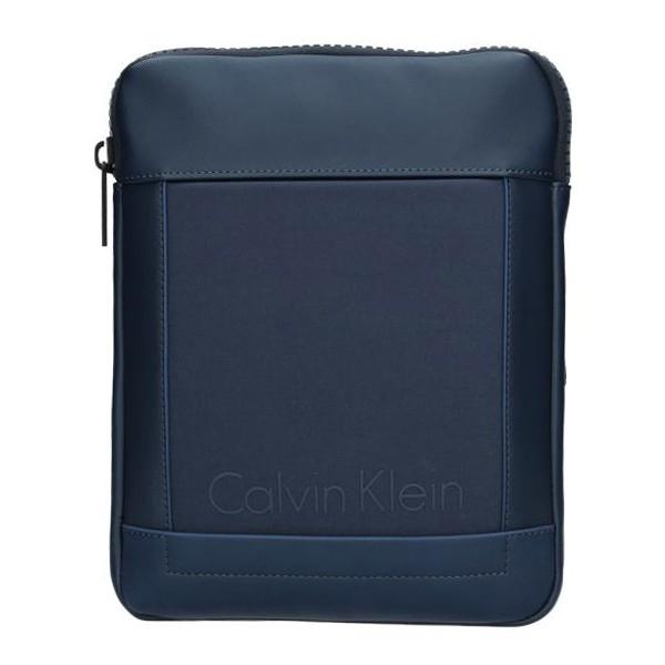 Pánska taška cez rameno Calvin Klein Maxim - modrá