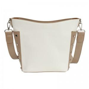 Dámska crossbody kabelka Doca 14702 - biela
