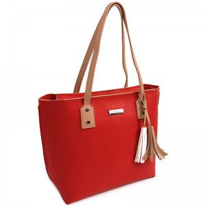 Dámska kabelka Doca 15046 - červená
