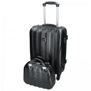 Sada dvoch cestovných kufrov Madisson Travel - čierná