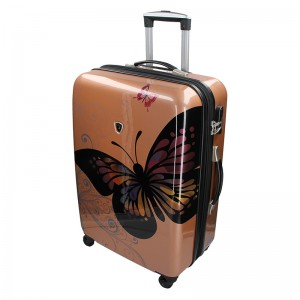 Cestovný kufor Madisson Ritta L - ružovo-zlatá