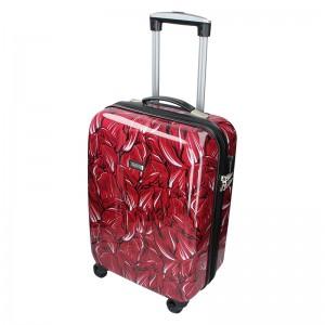 Cestovný kufor Madisson Nice L - červená