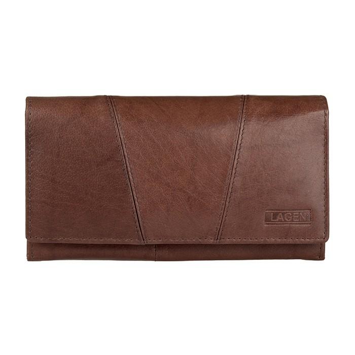 Dámska peňaženka Lagen Monas - hnedá