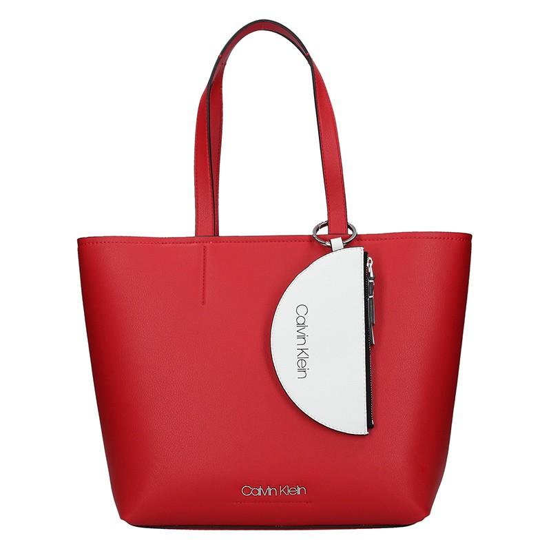Dámska kabelka Calvin Klein Armen - vínová