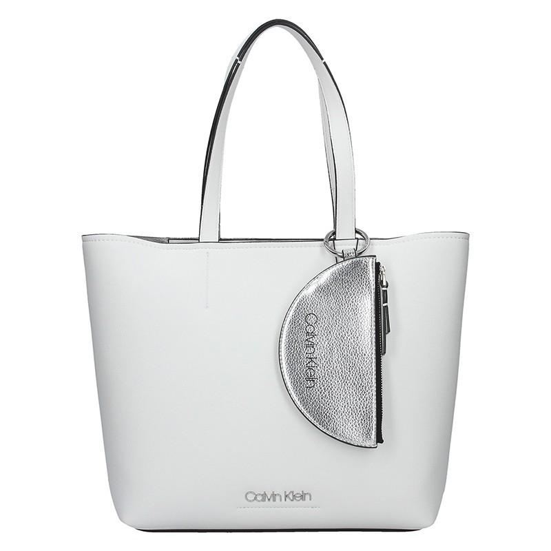 Dámska kabelka Calvin Klein Armen - biela