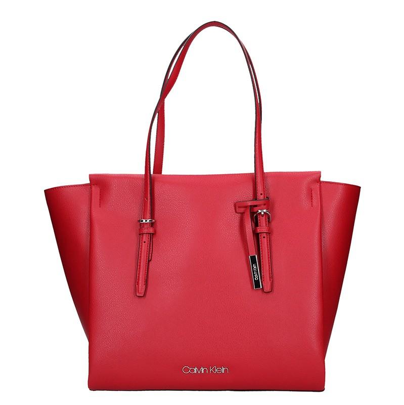 Dámska kabelka Calvin Klein Amanda - červená