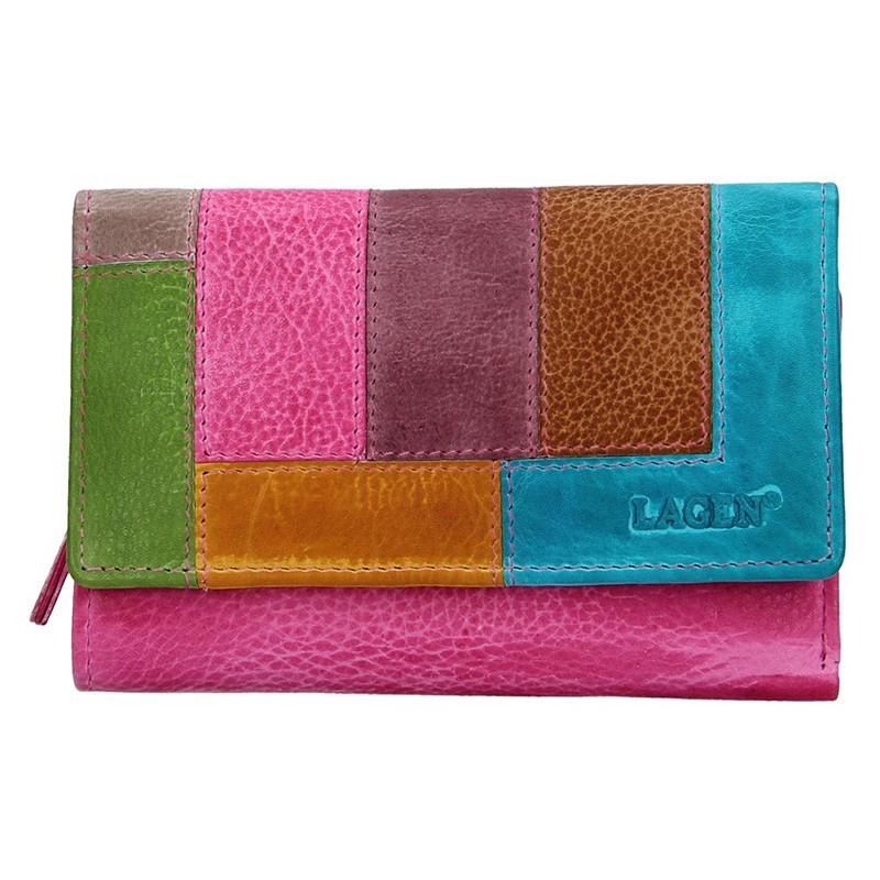 Dámska kožená peňaženka Lagen Denisa