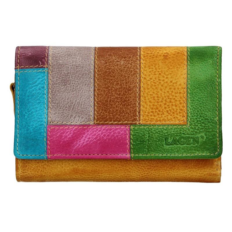 Dámska kožená peňaženka Lagen Denissa