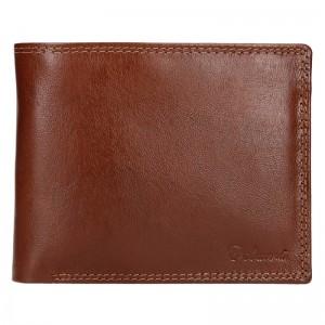Pánska kožená peňaženka Diviley Ursus - koňak