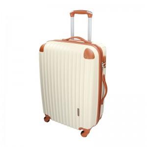 Cestovný kufor Madisson Alena L - béžovo-hnedá