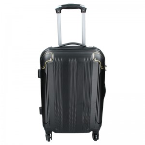 39/5000 Cestovný kufor MADISSON Michaela - čierna