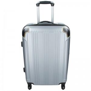 Cestovný kufor Madisson Michaela L - strieborná
