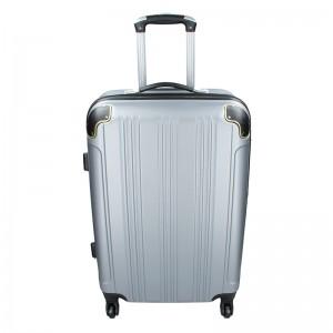 Sada 3 cestovných kufrov Madisson Michaela S, M, L - strieborná
