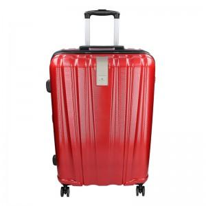 Sada 3 cestovných kufrov Snowball Lada S, M, L - tmavo červená