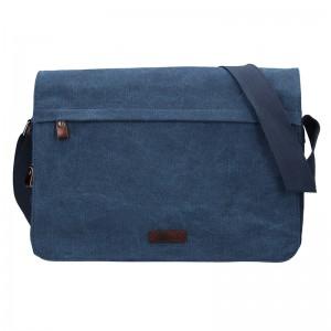 34/5000 Pánska taška Katana Borsek - modrá