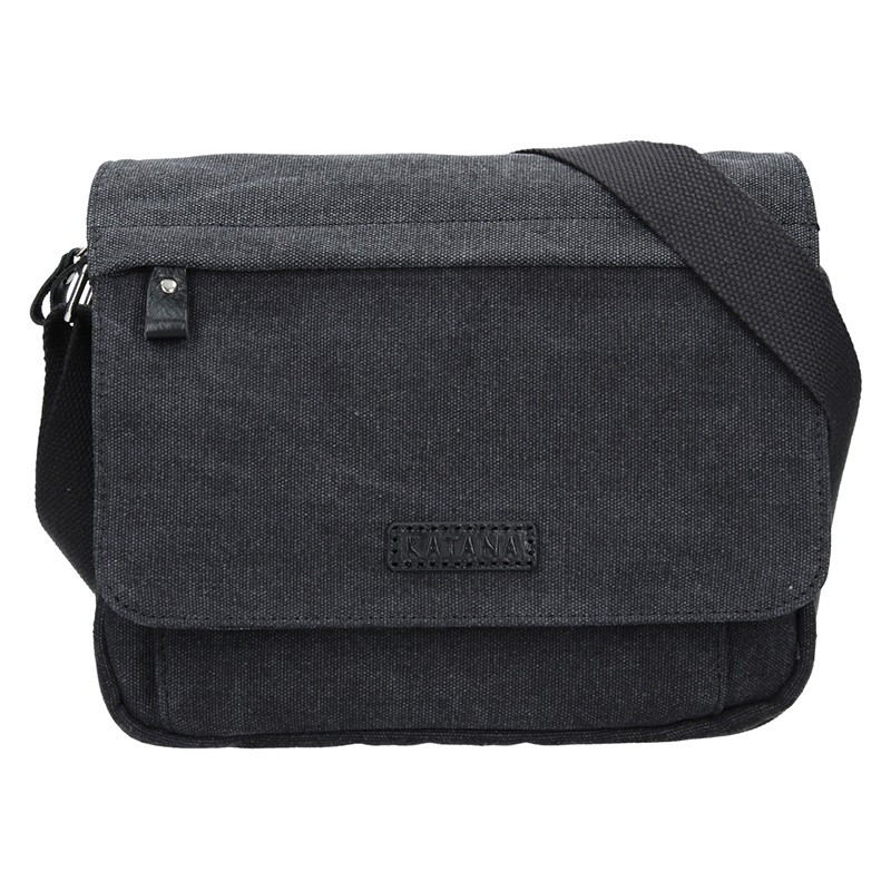 Unisex taška cez rameno Katana Madrid - čierna