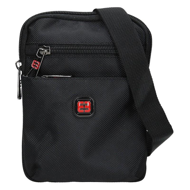 Pánska taška na doklady Enrico Benetti Heikki - čierna