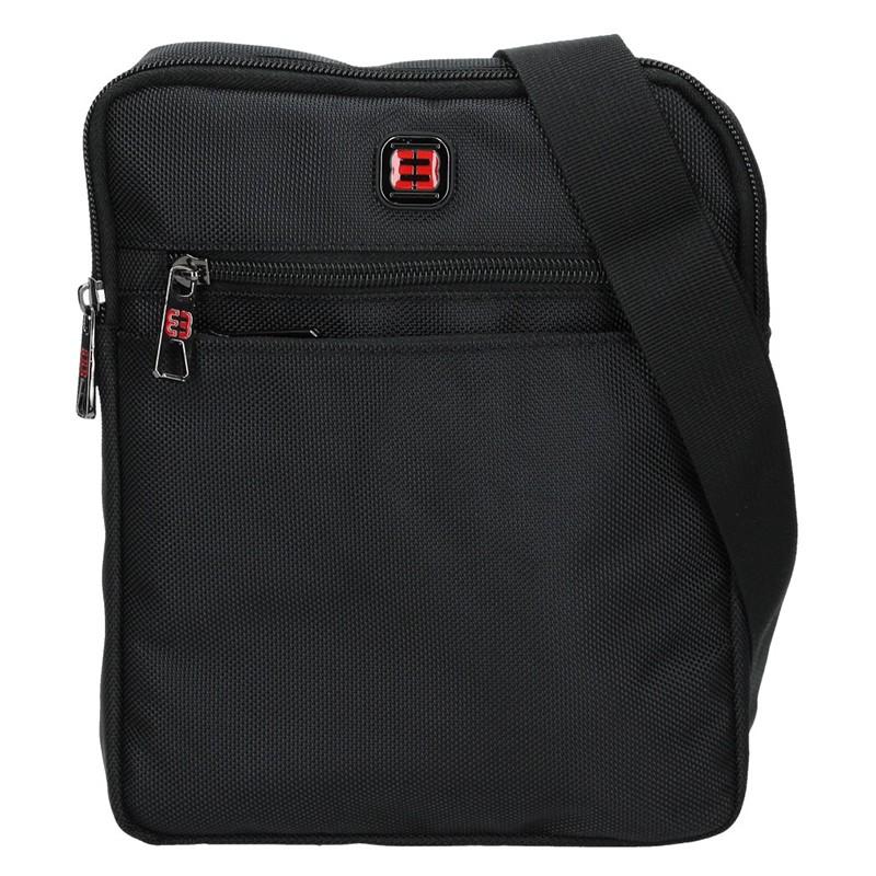 Pánska taška na doklady Enrico Benetti Anttoni - čierna