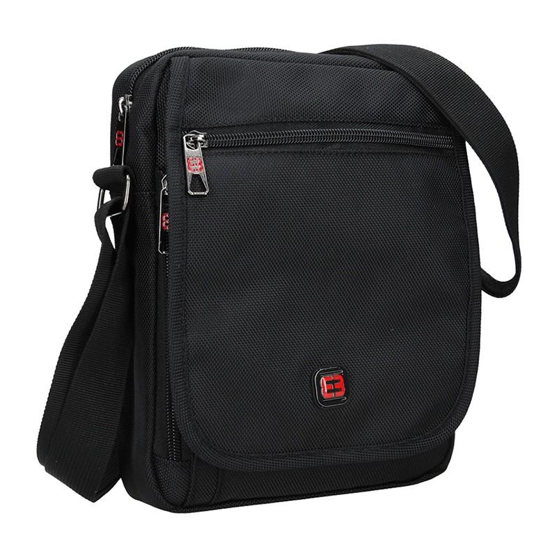 Pánska taška na doklady Enrico Benetti Kerttu - čierna
