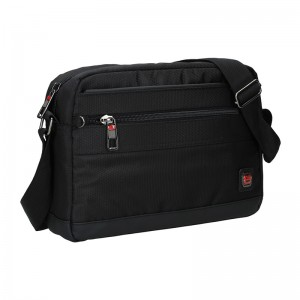 Pánska taška cez rameno Enrico Benetti Armas - čierna
