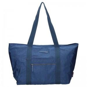 Dámska cestovná taška Enrico Benetti Jolana - modrá