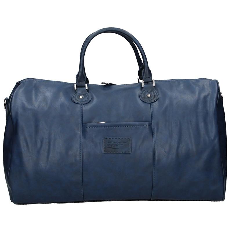 Trendy cestovná taška David Jones Travel - modrá