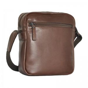 Pánská kožená taška Daag Peter - hnedá