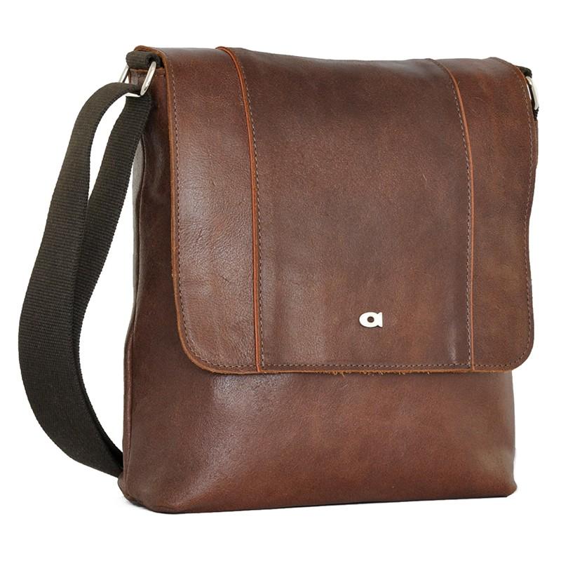 Pánska taška cez rameno Daag Alf - koňak