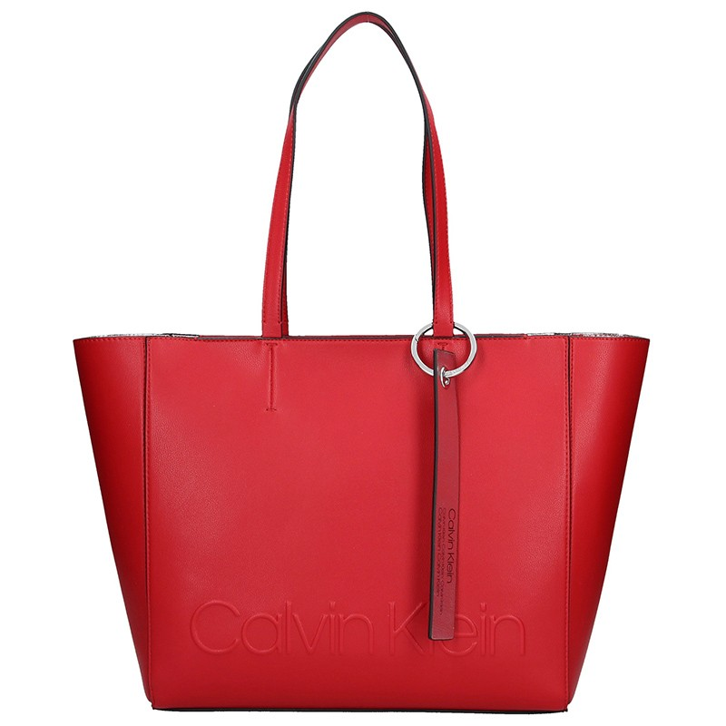 Dámska kabelka Calvin Klein Kamila - červená